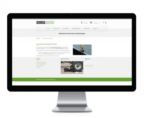 HIP Groen website