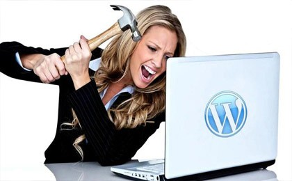 WordPress website problemen
