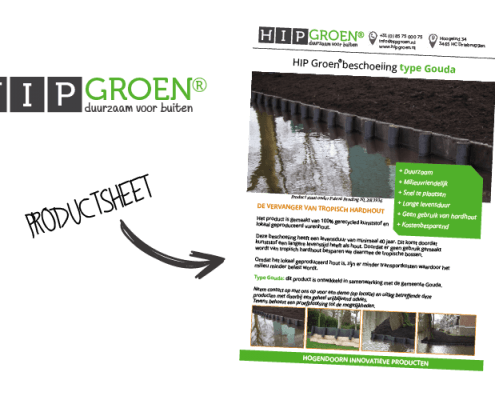 Productsheet HIP Groen