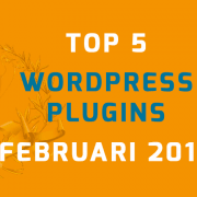 WordPress plugins februari 2016