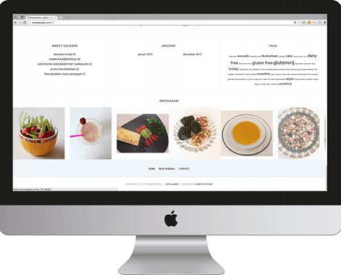Meertalige WordPress foodblog Endorecipes
