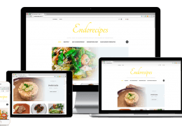 WordPress meertalige Foodblog Endorecipes