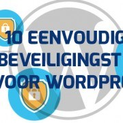 10 gratis WordPress beveiliging tips