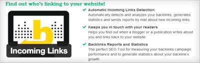 Incoming Links WordPress plugin