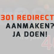 301 Redirects in WordPress aanmaken