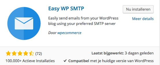 WordPress plugin Easy WP SMTP