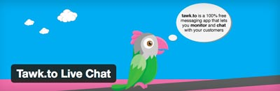WordPress plugin tawk.to livechat
