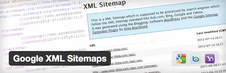 WordPress plug-in Google XML Sitemaps