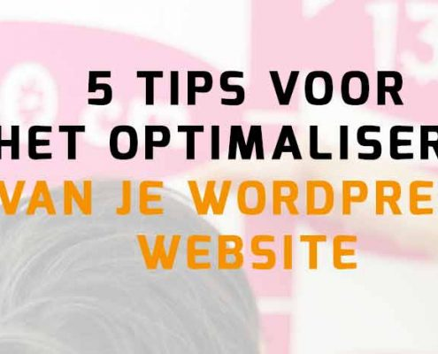 WordPress website optimalisatie