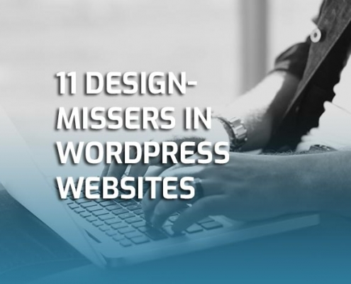 11 designmissers in WordPress websites
