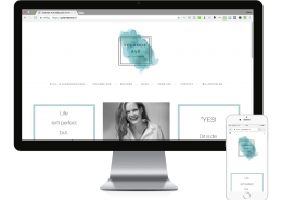 WordPress website ontwerp Yolande Ave