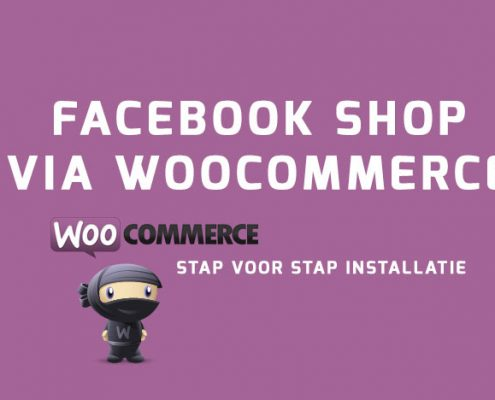 Facebook shop via Woocommerce