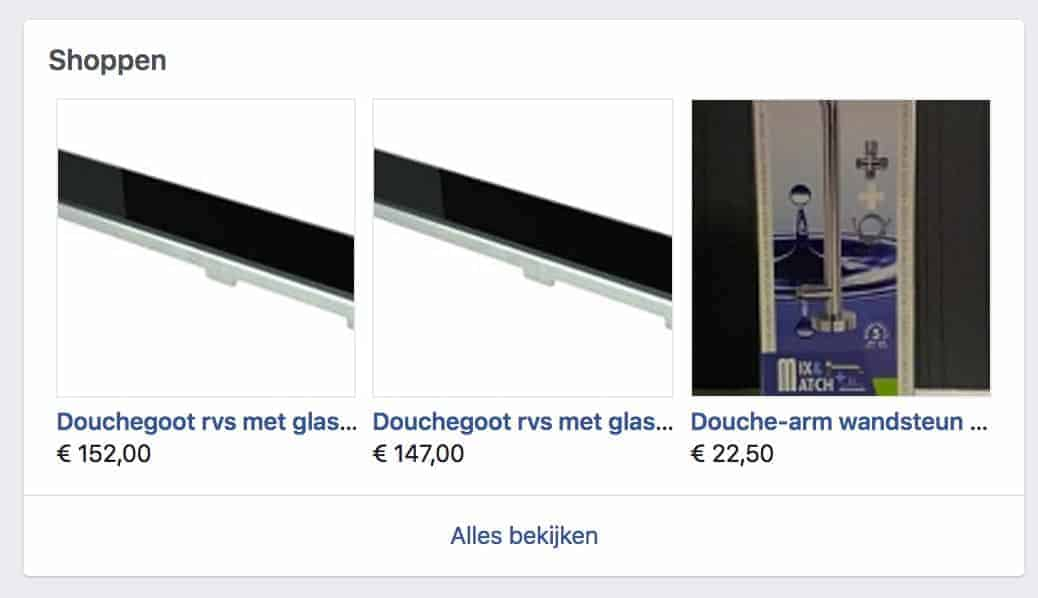 Facebook WooCommerce koppeling shop