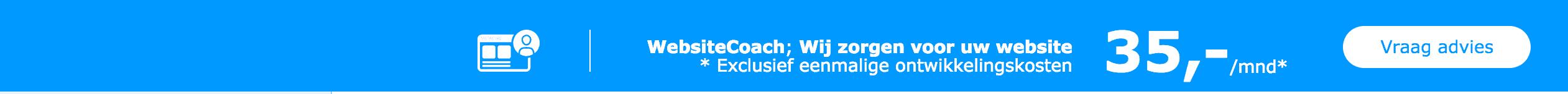 Bedrag KPN WebsiteCoach