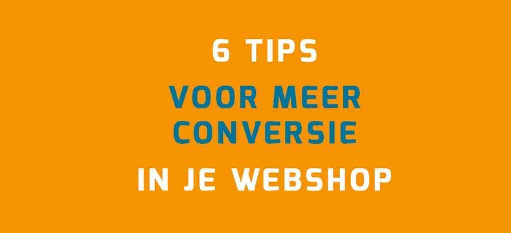 Meer conversie in je WooCommerce webshop