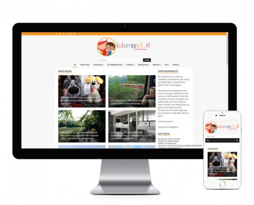 WordPress blog redesign kidseropuit.nl