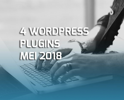 Vier WordPress plugins mei 2018
