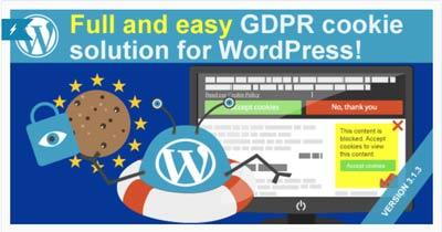 WeePie Cookie allow plugin WordPress