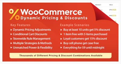 WooCommerce dynamic pricing and discounts