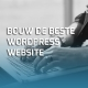 Bouw de beste WordPress website