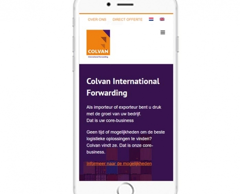 WordPress website Waddinxveen Colvan Netherlands