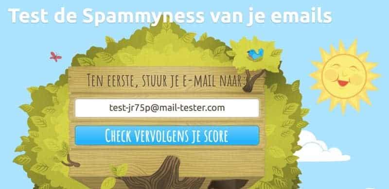E-mail tester
