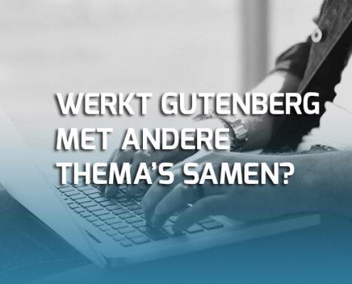 Gutenberg met WordPress thema's