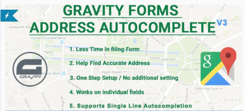 Gravity Forms Autocomplete Address