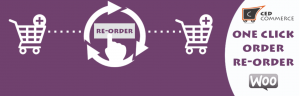 One Click re-order WooCommerce