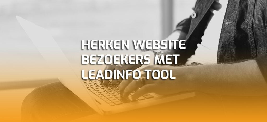 Herken website bezoekers met leadinfo tool