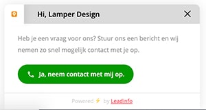 Leadinfo form Lamper Design