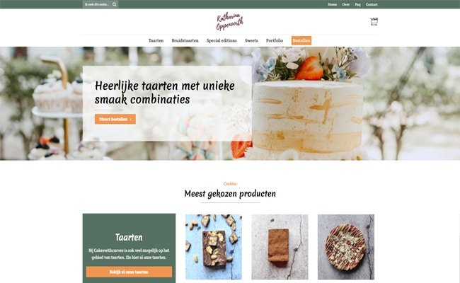 Cakes With Curves webshop